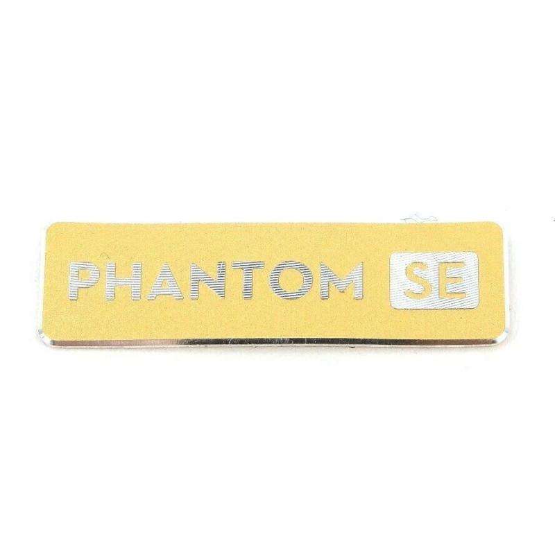 Original DJI Phantom SE - Logo / Sticker - gold