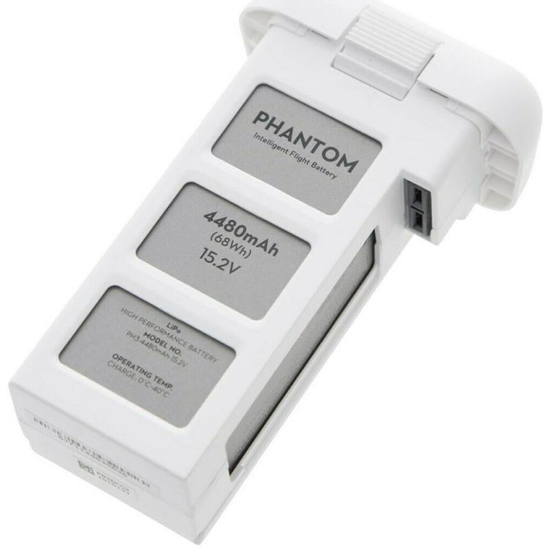Original DJI Phantom 3 - 4500mAh 15.2V LiPo Akku / Battery 6-10 Ladezyklen